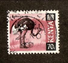 Kenya--#28 Used--1969 Ostrich