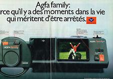 PUBLICITE ADVERTISING 114  1981  AGFA  FAMILY  appareil photo ( 2p)