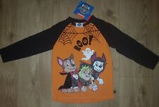 Halloween Paw Patrol Boys T-shirt 4-5 years NEW