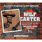 Wilf Carter - Also Known as Montana Slim (Selected Sides 1933-1941/Remastered, 2013)