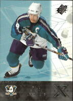 2000-01 SPx Hockey Cards Pick From List