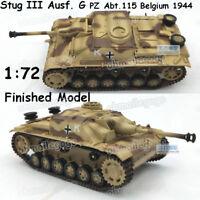 1:72 Stug III Ausf. G Abt.115 Belgium 1944 assault gun tank easy model finished