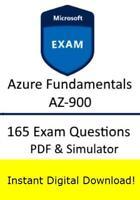 Microsoft Azure Fundamentals AZ-900 (165 Exam Questions PDF Simulator->Email)