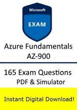 AZ-900 Microsoft Azure Fundamentals Exam Test QA/&SIM