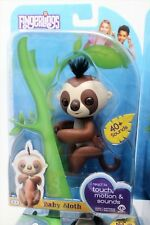 Fingerlings - Kingsley The Interactive Baby Sloth - Brown - By WowWee New in Box