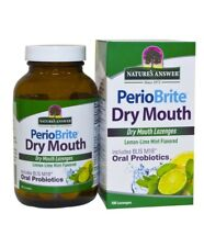 Nature's Answer PerioBrite Dry Mouth With Oral Probiotics 100 Lozenges UK Stock
