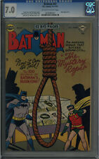 BATMAN #67 CGC 7.0 JOKER APPEARANCE OFF-WHITE TO WHITE PAGES 1951