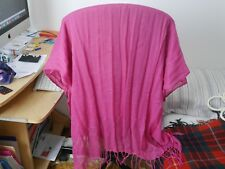 United Colors of Benetton Pink Scarf Shawl Wrap