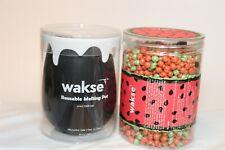 Wakse Reusable Melting Pot & Hard Wax Beans Set 12.8 oz. USA NEW Hair Removal