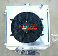 3 ROW Aluminum Radiator + Shroud + Fan for Ford XW XY 302 GS GT 351 Cleveland AT
