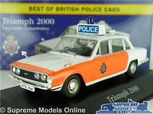 TRIUMPH 2000 MODEL POLICE CAR LANCASHIRE 1:43 CORGI VANGUARDS ATLAS SALOON K8