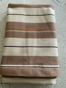 RETRO STYLE LARGE STRIPE COVER TABLE BED THROW PRELOVED