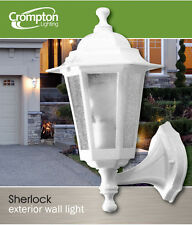 Large Outdoor Coach Light - White - Wall Mount EX706W