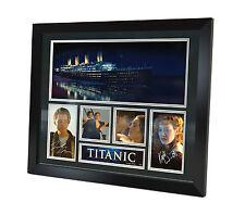Titanic - Di Caprio - Winslet - Signed Photo Movie Memorabilia Framed + COA