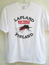 LAPLAND...AIR FORCE...TYPE: MOSQUITO...FINLAND...T-SHIRT...sz L