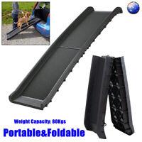 Pet Ramps Foldable Dog Ramp Ladder Steps Stairs Portable Car Step Travel SUV AU