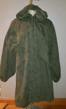 Military army Selma night camouflage parka desert fish tail jacket coat duster S
