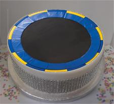 """Nouveauté trampoline 8"""" Comestible Glaçage Cake Topper Anniversaire"""