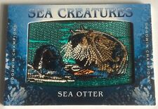 Sea Creatures Sea Otter 2020 Goodwin Champions Patch Relic Ssp
