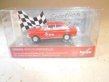 ++ B3063 1/87 Herpa BMW 2002 Spielwarenmesse 2010 Toy Fair NEU OVP