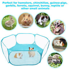 Small Animals Cage Tent Guinea Pig Rabbits Hamster Pet Playpen Exercise Fence