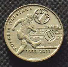 COIN OF POLAND - POLISH SOCCER CLUBS 'POLONIA WARSZAWA' (MINT)