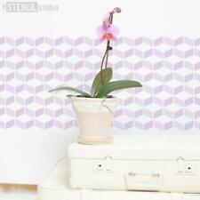 Diamond Chevron Stencil - Wall Stencil - Home Decor - Painting -Wallpaper Effect