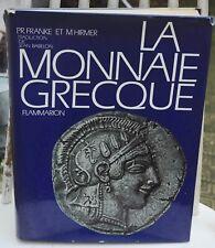 Franke, P.R. & M. Hirmer La monnaie grecque 1966 traduit par Babelon. Somptueux.
