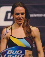 ALEXIS DAVIS SIGNED UFC 8X10 PHOTO