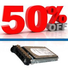 Dell 300 GB SAS 3.5 in (ca. 8.89 cm) 15k RPM Hotswap HARD DISK CON CADDY Dell-YP778