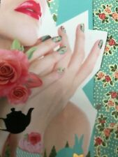 Cath Kidston Nail Wraps Foil Decals Stickers Nail Art Self Adhesive Rose Flower