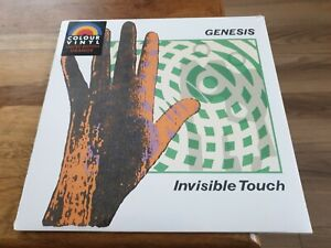 Genesis Invisible Touch Orange Vinyl LP Limited Edition Sealed and New