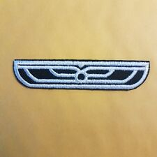 Alien Weyland-Yutani Small Black Officer Flight Wings Dall Patch 3 1/4 inches