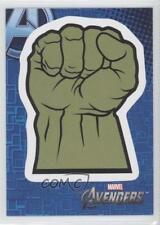 2012 Upper Deck Avengers Assemble Retail Stickers #S16 Hulk's Fist Card 0b5