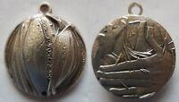 medaglia ciondolo Barilla 1980 incisore grilli