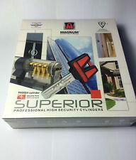 MAGNUM SUPERIOR HIGH SECURITY 76mm WHEEL Euro Cylinder Door Office Mul T lock