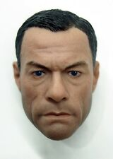 Custom 1/6 Scale Jean-Claude Van Damme JCVD Head Sculpt For Hot Toys Body