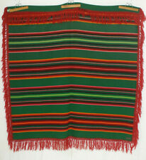 "PENDLETON Wool Blanket Serape Full 60x66"" Vintage Native Trade 1923-30 Charity!"