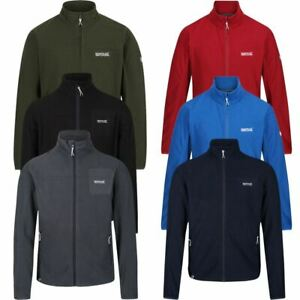 Mens Regatta / Trespass Soft Lightweight Windproof Fleece Outdoor Sweater Jacket