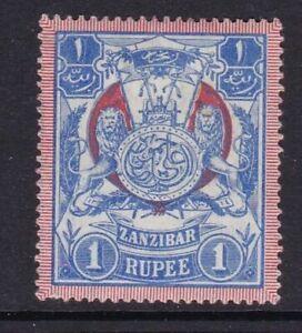 Zanzibar - SG 220 - m/m - 1904 - 1r - Blue & Red