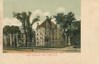 TROY NY –Emma Willard School Gurley and Sage Memorial Halls Private Mailing Card
