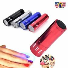 Flash Light Mini LED UV Gel Curing Lamp Professional Portable Fast Nail Dryer US