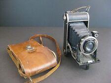 Voigtlander BESSA w/Anastigmat Voigtar 11cm 4.5 Lens Folding Camera w/ case