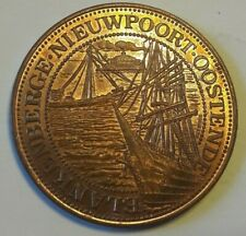 25 westvlaander 1981 Token Coin Blankenberge Nieuwpoort Oostende Belgïe