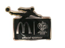 "Mcdonalds pin/Pins-fifa wm 2006 ""Official patrocinador"""