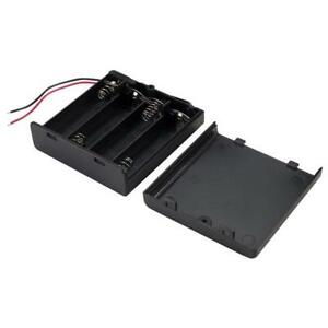 5 x TruPower SBH341-1AS Battery Box 4 x AA with Switch & Wire Leads Arduino