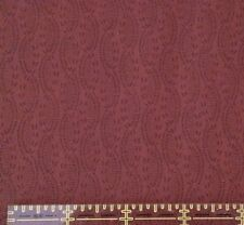 "1 yd 9"" Compose II Intertwining Vines David Textiles Port (brown) Blender"