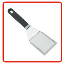 ❤ Metaltex STAINLESS STEEL BBQ & Kitchen Imperial Spatula Silver Rubber Handle ❤