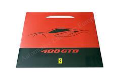 2015 FERRARI 488 GTB PORTFOLIO DESIGN SKIZZE LITHOGRAPH BROCHURE PROSPEKT