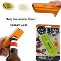 1x Cool Flying Cap Zappa Bottle Opener Launcher Fancy Beer Openers With Key Ring